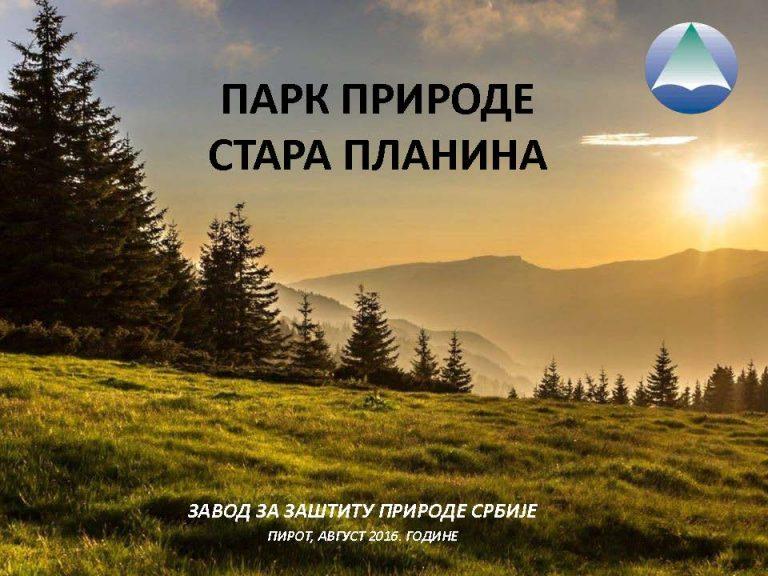 Park prirode Stara planina